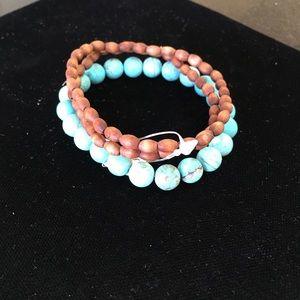 Jewelry - Wooden stretch bracelets